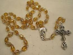 birthstone rosary november birthstone rosary boxed great for any occasion