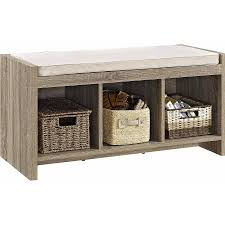 Cushioned Storage Bench Ideas Cushioned Storage Bench Home Improvement 2018