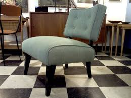 Armless Slipper Chair Vintage Slipper Chairs