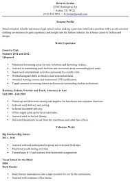 exle resume for high school student blank high school student resume templates no work experience