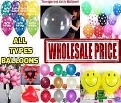wholesale balloons wholesale balloons 100 500 bulk price joblot quality any