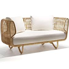 Couch Angled View Nest Sofa By Cane Line Yliving