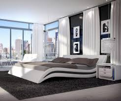 Schlafzimmer Gestalten Dunkle M El Emejing Exklusive Moderne Residenz Kunstlerischem Flair Images