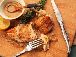 Cooking Chicken Breast In Toaster Oven Easy Pan Roasted Chicken With Lemon And Rosemary Pan Sauce