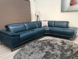 leather electric recliner chaise corner sofa mizzoni italia adria electric reclining chaise corner sofa