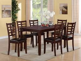 darren 7 pc dinette dining room furniture sets