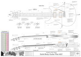 solid body electric guitar plans 24 electronic version georgia