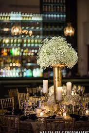 Gold Centerpiece Vases Wedding Wednesday Warm Wintery Elegance Beautiful Blooms