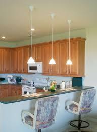 mini pendant lights for large kitchen island lighting