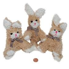 stuffed bunnies for easter plush egg shaped bunnies easter prize