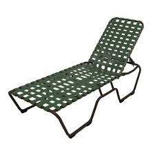 Marco Island White Commercial Grade Aluminum Patio Chaise Lounge