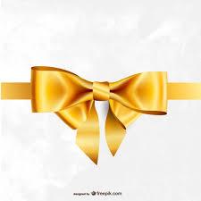 gold ribbons golden ribbon vector free