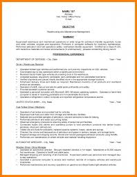maintenance resume objective examples 8 warehouse resume objectives park attendant warehouse resume objectives warehouse worker resume objective cipanewsletter
