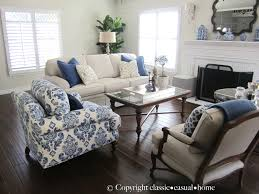 Classic Livingroom Blue White And Silver Timeless Design Timeless Design Living