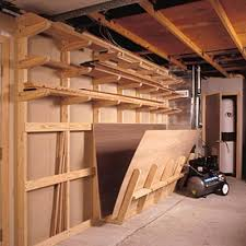 Woodworking Storage Shelf Plans by Lumber Storage Rack Woodworking Plan From Wood Magazine