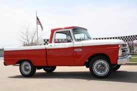 Vintage Ford Truck Beds - 1966 ford f100 1 2 ton short wide bed custom cab pickup truck