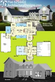 4 Bedroom Farmhouse Plans Summerfield Farmhouse Plans Outdoor Living Areas And Modern