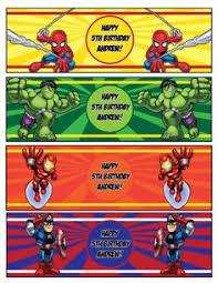 a4 superhero sign poster birthday party supplies printable