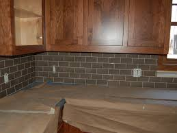 interior beautiful gray subway tile backsplash tile backsplash