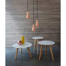 table basse bout de canapé table basse plateau marbre 3 suisses deco tables