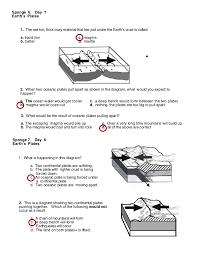 volcanoes and plate tectonics worksheet worksheets