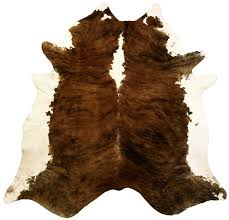 Large White Area Rug Chesterfield Leather Extra Large Brindle Brazilian Cowhide Brown