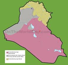 Islamic State Territory Map by War Devision Territories Map Of Iraq