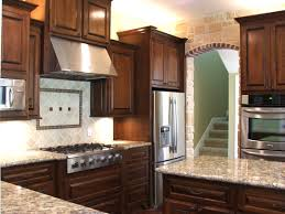 can you stain kitchen cabinets darker cherry cabinet kitchen designs amazing cabinets how to stain 17