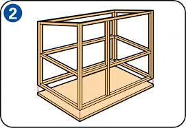 Make A Rabbit Hutch How To Build A Rabbit Hutch Or Outside Rabbit Run