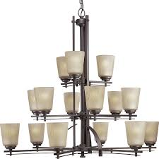 15 Light Chandelier Shop Progress Lighting Riverside 40 75 In 15 Light Heirloom