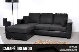 revetement canapé canapé d angle réversible revêtement simili cuir et microfibre
