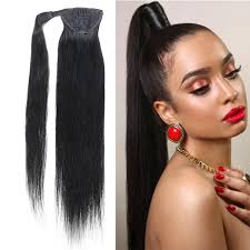 human hair extensions clip in ponytails remy human hair 100g human hair extensions