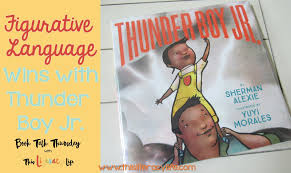 figurative figurative language wins with thunder boy jr on book talk