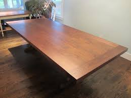 Walnut Dining Room Furniture Dining Room Furniture Walnut Dining Table With Potted