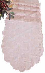 lace table runners wholesale 13 5 x108 lace table runners blush pink 90615 1pc pk 3 you