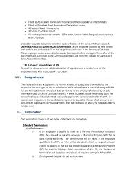 example letter of resignation simple resignation letter template