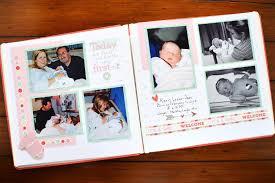 scrapbook photo album 10 firsts to include in your baby scrapbook album creative