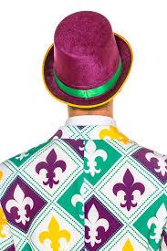 mardi gras hat green and purple mardi gras top hat the monopoly