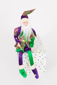 mardi gras ornaments 18 hanging mardi gras santa ornament the mardi gras collections