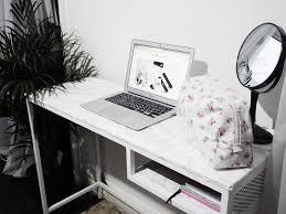 diy marble desk deedee louise
