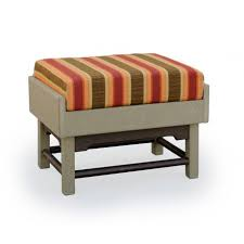 amish made poly outdoor glider ottoman footrest
