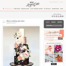 100 Wedding Ideas Venues U0026 by 100 Layer Cake U0027s Black Cake Ideas Hey There Cupcake Cavin
