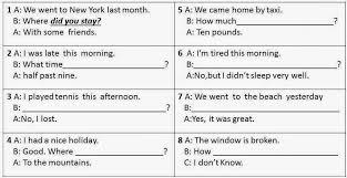 markingles curso de ingles past simple negative and questions