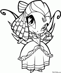 winx pixies coloring pages for kids and for adults coloring home
