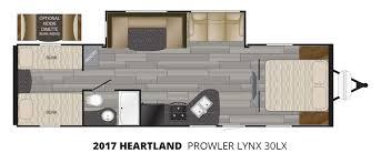 2017 heartland prowler lynx 30lx travel trailer u2013 stock pl17006