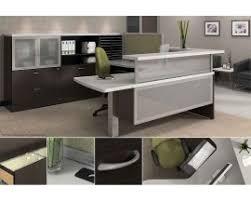 U Shaped Reception Desk Laminate Reception Desks Office Bargain Center Boynton Beach