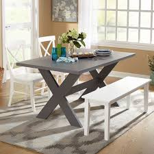 Black Dining Table White Chairs Best 10 Dining Set With Bench Ideas On Pinterest Wood Tables