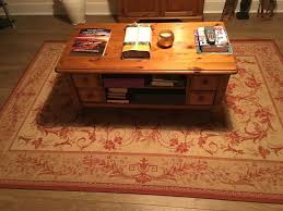 Ducal Coffee Table Ducal Coffee Table Condition 4 Drawers And 2 Shelves