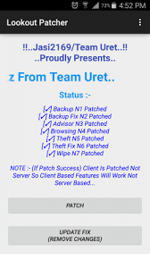 lookout premium apk free lookout security antivirus patcher v1 0 apk4free