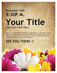 invitation flyer templates free free printable event flyer templates u2022 az photos